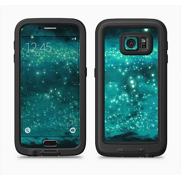 The Trendy Green Space Surface Full Body Samsung Galaxy S6 LifeProof Fre Case Skin Kit