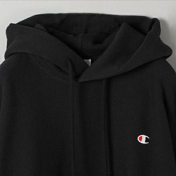 Champions autumn and winter new men and women wear fleece quality sweater