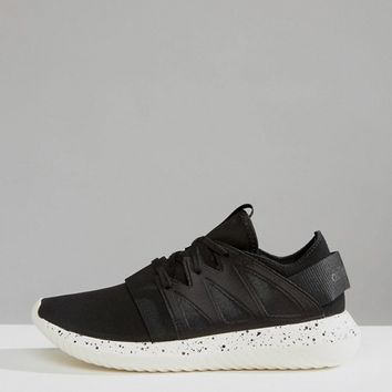 adidas Originals Black Tubular Sneakers With Speckle Sole at asos.com
