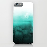 Green Lagoon iPhone & iPod Case by Cafelab