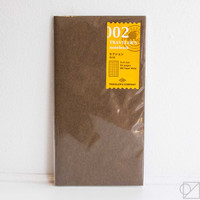 TRAVELER'S Company 002 Grid Notebook Refill