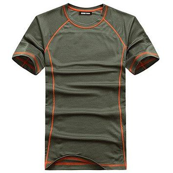 KOSMO MASA 2017 Quick Dry Breathable T-Shirt For Men Tees Space Jersey T Shirts Men's Anime Fitness Hip Hop T-Shirts MC0153