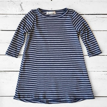 Girls Striped Tunic
