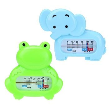 Baby Bath Shower Thermometer Cartoon Animal Elephant Frog Shape Water Temperature Scale Baby Toys