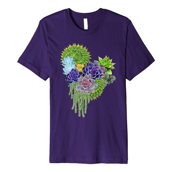 Succulent-wedding-bouquet prime-Tshirt