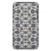 Dream Floral in Cream and Gray Case-Mate iPod Touch Case