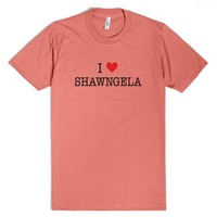 I Love Shawngela Shirt - Boy Meets World | T-Shirt | SKREENED
