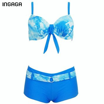 New Bikini Set Push Up Swimwear Women Swimsuit Shorts Sexy Bikini Top Strap Summer Sport Bathing Suits