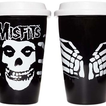 Misfits Fiend Hot or Cold Drink Tumbler from Sourpuss - Drinkware