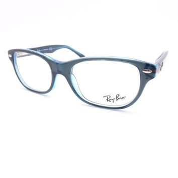 Ray Ban Kids 1555 3667 Blue Eyeglass Frame New Authentic