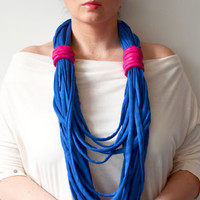 Infinity necklace, loop necklace, infinity scarf, extravagant necklace, extra long necklace