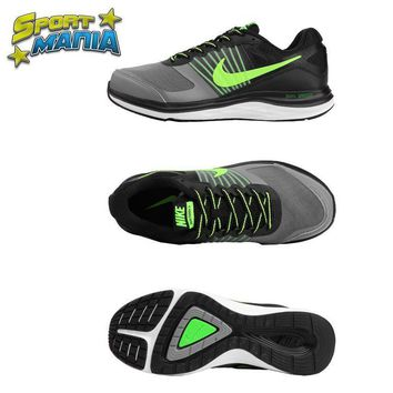 NIKE DUAL FUSION X1 Grey&Green Men Sport Running shoes
