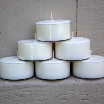 6 Jamaica Me Crazy Scented Soy Tea Light Candles