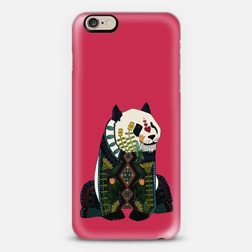 love heart panda valentine red iPhone 6s case by Sharon Turner   Casetify