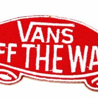 """Vans of the Wall"" Logo Iron on Patch Great Gift for Men and Women/ramakian"