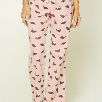 Dinosaur Fleece PJ Pants