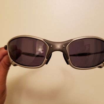 Oakley Juliet X-Metal New Customized TiO2 with Black Polarized Lens