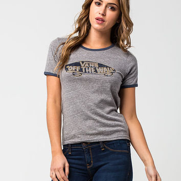 VANS Authentic Womens Ringer Tee   Graphic Tees