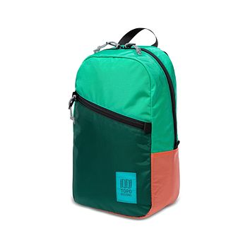 Topo Designs -  Mint Forest Coral Unisex Light Backpack
