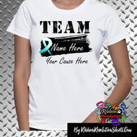 Personalize Cervical Cancer Team Name Shirts