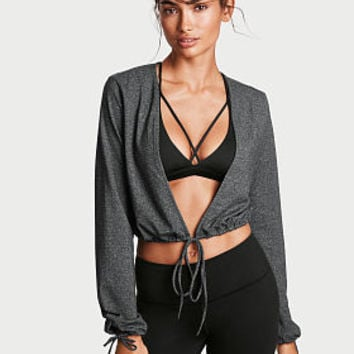 Plunge Crop Top - Victoria Sport - Victoria's Secret