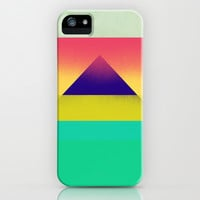 Purple Pyramid iPhone & iPod Case by Amelia Senville