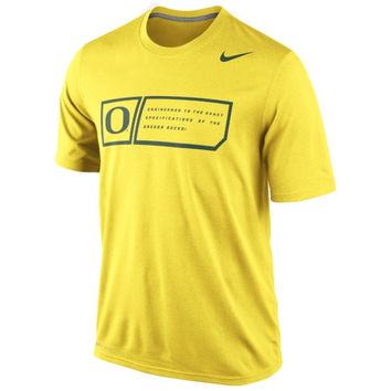 Nike Oregon Ducks 2014 Football Sideline Training Day Legend Dri-FIT Performance T-Shirt - Yellow