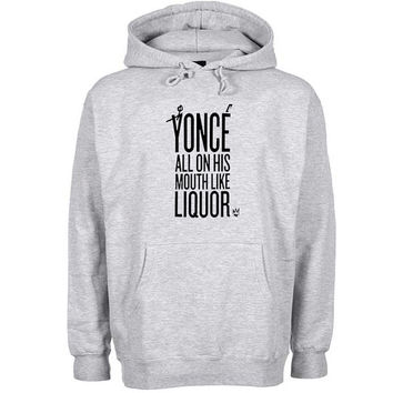 yonce Hoodie Sweatshirt Sweater Shirt Gray and beauty variant color for Unisex size