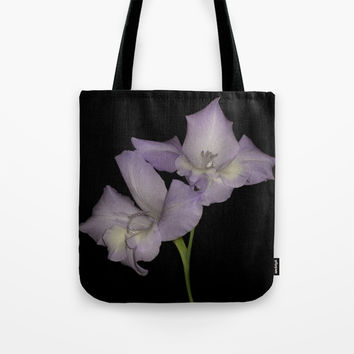 Gorgeous Gladioli Tote Bag by Peaky40