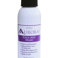 Aurorae Natural Organic Yoga Mat Wash Cleaner