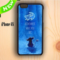Dream colorful The Lion King Movie Simba Remember Who You Are iPhone 6S Case