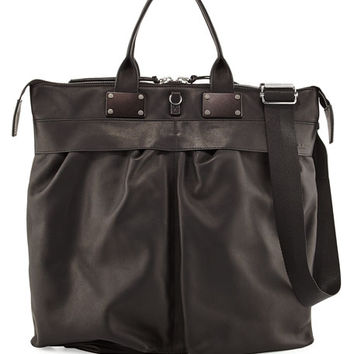 Rag & Bone Pilot Leather Tote Bag, Black