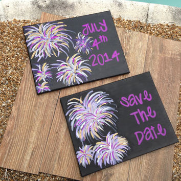 Reserved For Kacie Stephenson - Wedding - Save The Date Canvas'