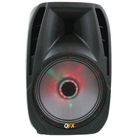 "Qfx 10"" Portable Bluetooth Party Pa Speaker"