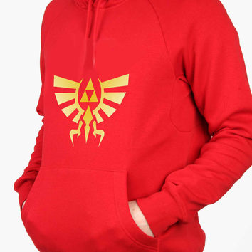 The Legend of ZELDA Triforce logo Nintendo gamer For Man Hoodie and Woman Hoodie S / M / L / XL / 2XL*AP*