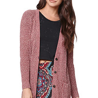 LA Hearts Button Front Cardigan