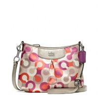 Coach :: Madison Diagonal Op Art Fashion Swingpack