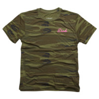 Pink Dink Camo Tee T Shirt By JennaJulien Design By Humans
