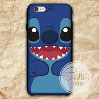 Lilo & Stitch phone case iPhone 4/4S, 5/5S, 5C Series, Samsung Galaxy S3, Samsung Galaxy S4, Samsung Galaxy S5 - Hard Plastic, Rubber Case