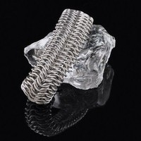 Stainless Steel Chainmaille Cuff