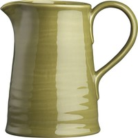 Osteria Green Pitcher in Dining & Entertaining | Crate and Barrel
