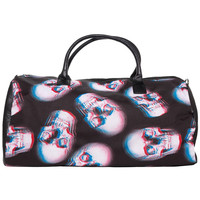 "Women's ""Skull Of Doom"" Duffle Bag by Iron Fist (Black)"
