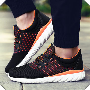 2016 spring new  running shoes sneakers man outdoor sports shoes walking running shoes jogging trendy shoes