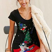 Urban Renewal Recycled Holiday Sweater Dress-