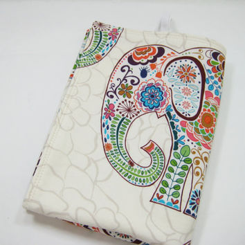 Elephant Changing Mat, Diaper Bag Accessory, Baby Shower Gift Idea