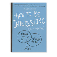 How To Be Interesting Book at Urban Outfitters