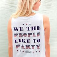 Jadelynn Brooke We the People Like to Party Tank