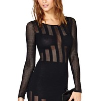 Nasty Gal Seine Mesh Dress