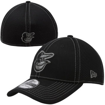 New Era Baltimore Orioles 39THIRTY Neo Stretch Fit Hat - Black