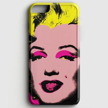 Andy Warhol Marilyn Monroe Pop Art Iconic Colorful Superstar Cute iPhone 8 Case